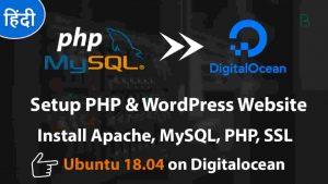 Installing Apache, MySQL, PHP (LAMP) Stack on Ubuntu 18.04