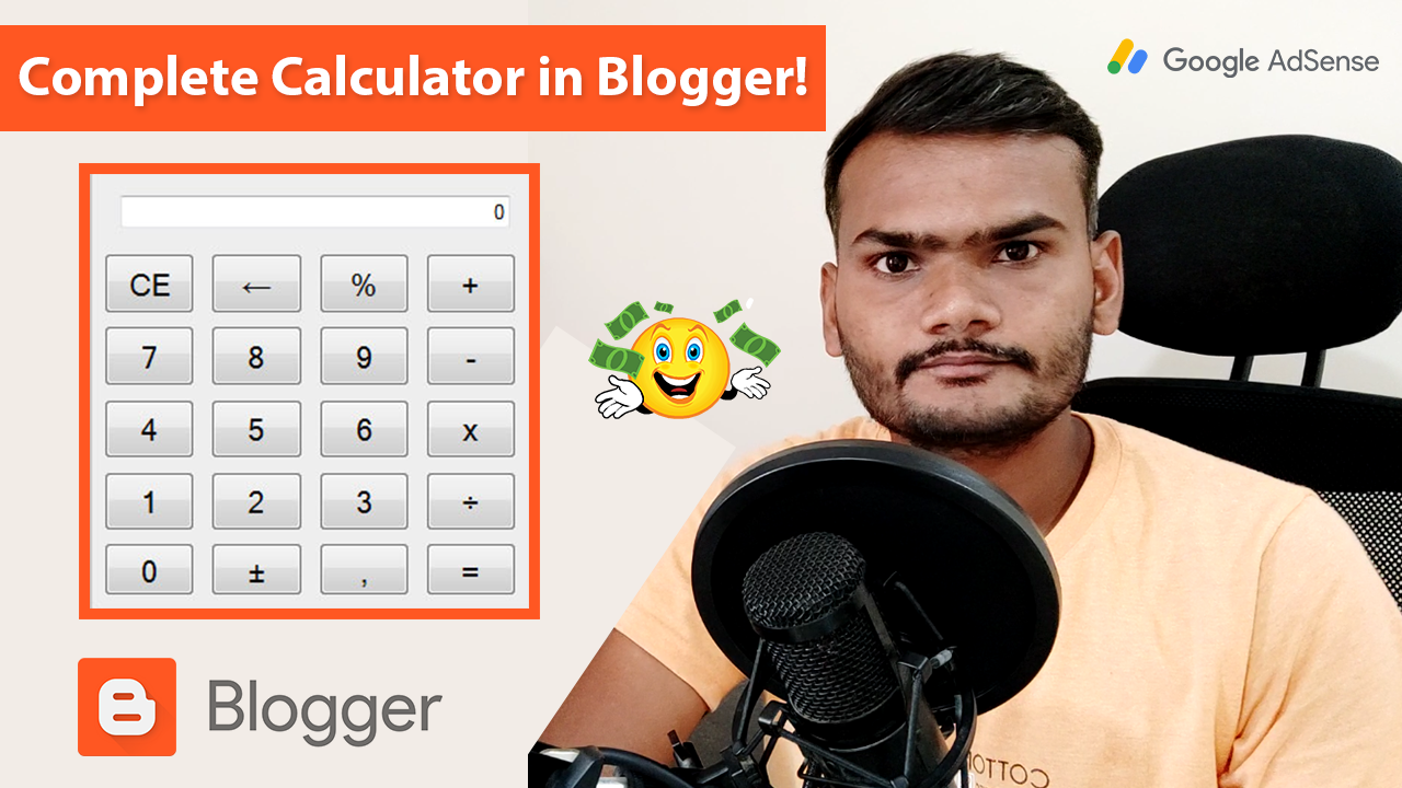 How to Create a Complete Calculator in Blogger